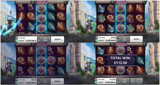 Adelia Pokies- Game Symbols