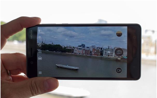 Camera in Nokia 8