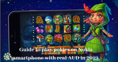 Guide to play pokies with Nokia smartphone with real AUD in 2019