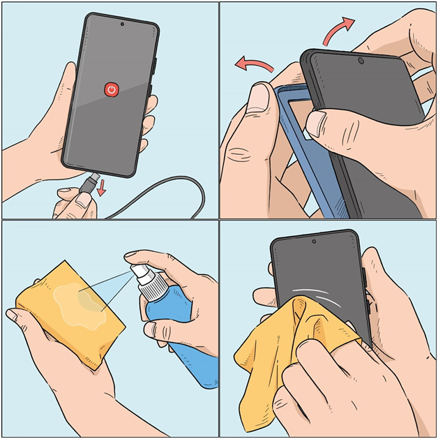 How often should you clean your phone?