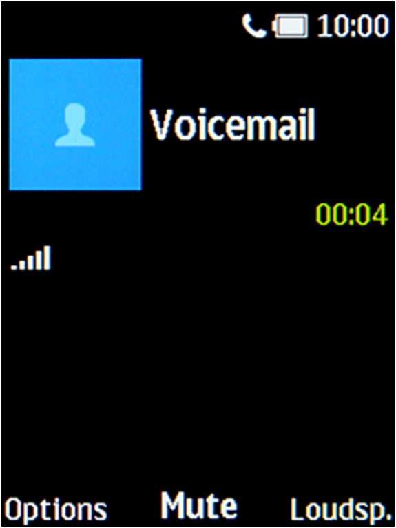 How to check voice mail on Nokia