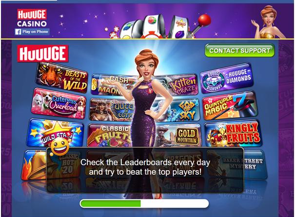 Huuuge casino pokies app