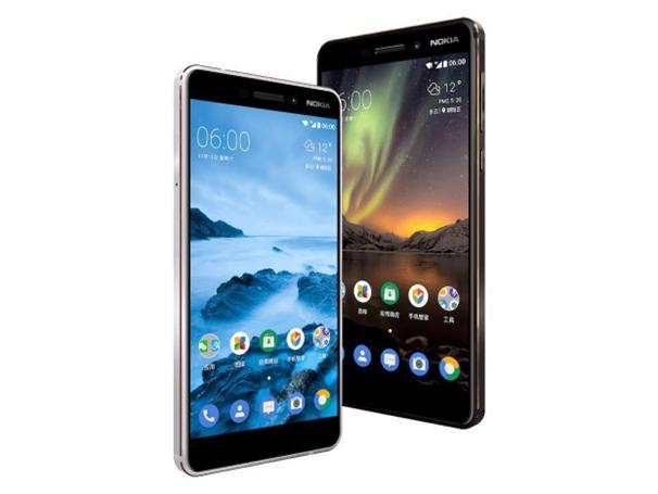 Nokia 6 2018 smartphone