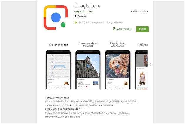Nokia mobile and Google Lens