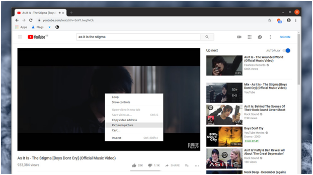 Chrome Video PIP