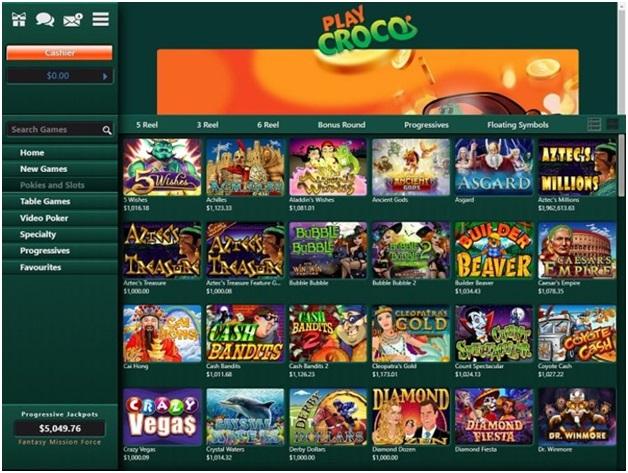 Play Croco Casino AUD
