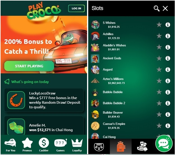 Guide to play real money pokies at new Croco casino with your Nokia mobile