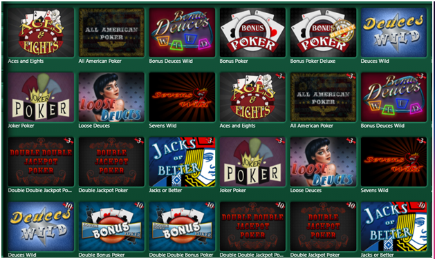 Rules to play video poker