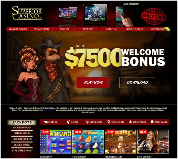 Superior casino real AUD pokies