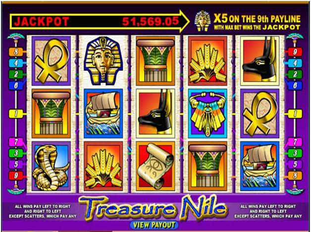 Treasure nile pokies