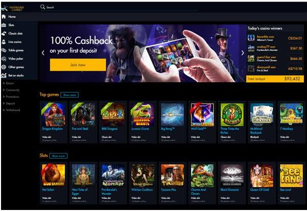 winward casino app